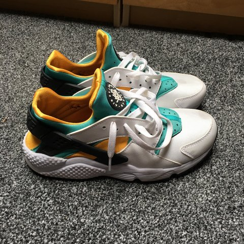 b5e5ae819ef07 ... Nike air huarache OG yellowgreen