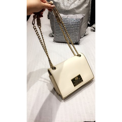 LOVE MOSCHINO Cream nude authentic bag brought from Only  f9a8cef219385