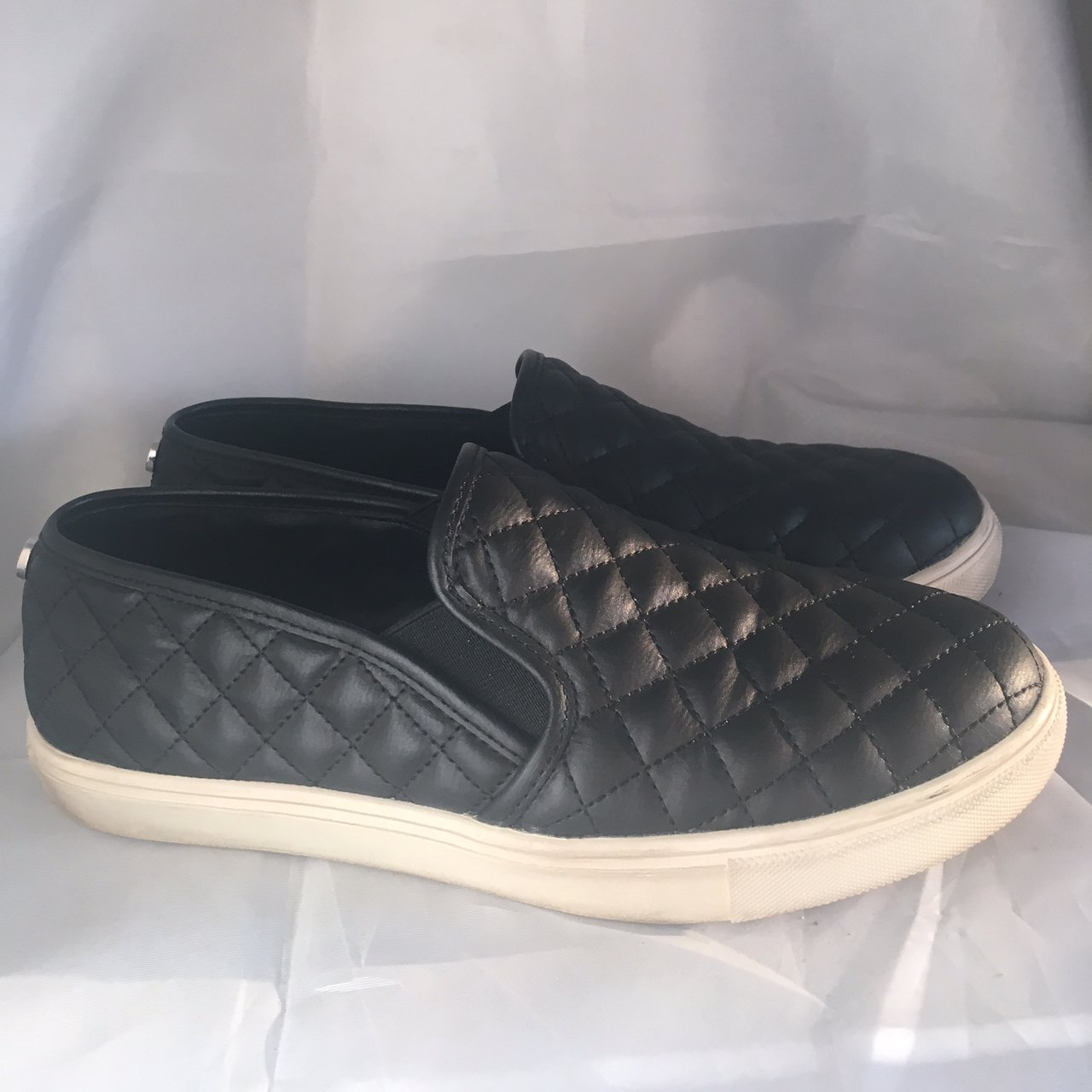 5caa9ac33c5 Steve Madden Ecentrc-Q Sneakers shoes size 9.5 black in ask - Depop