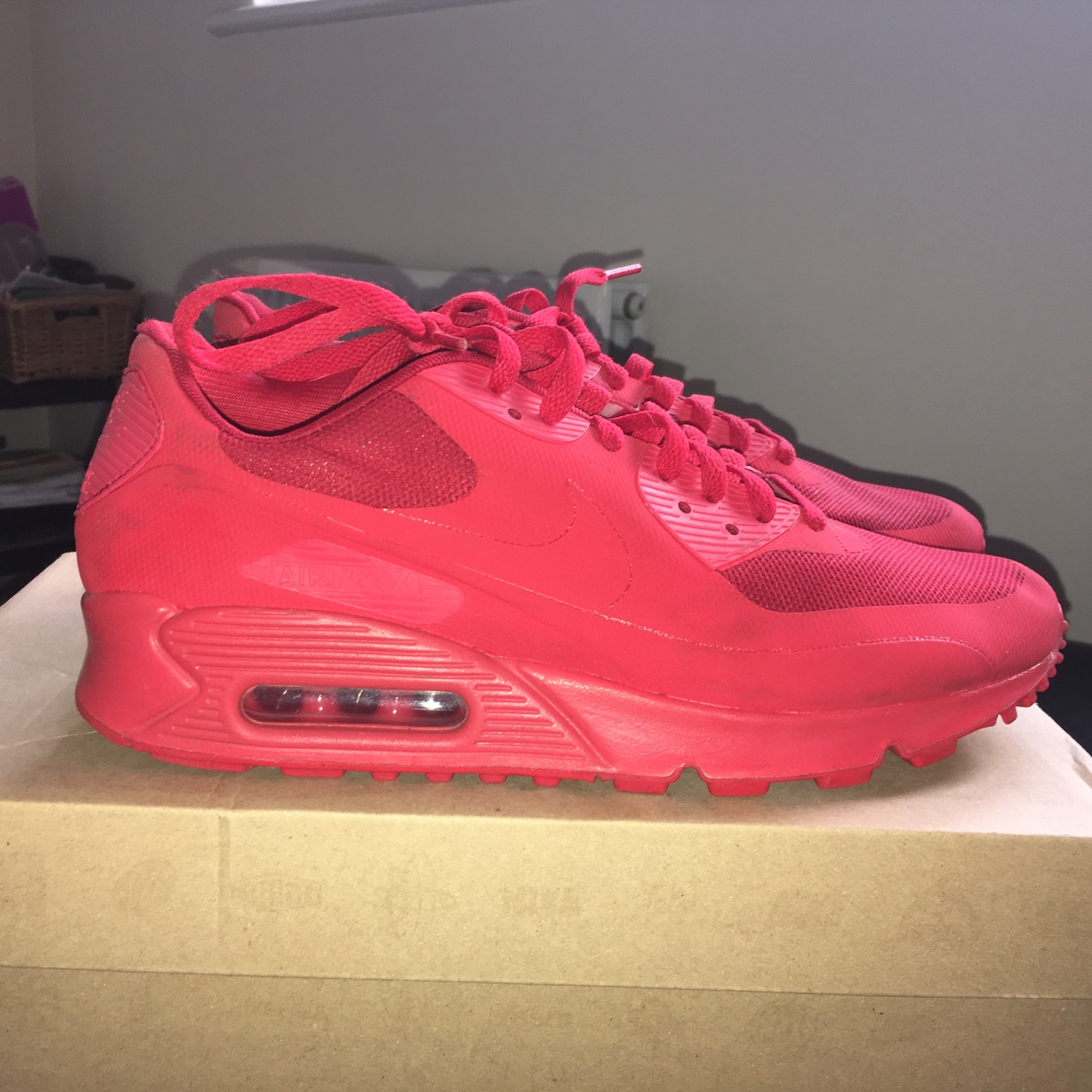 Nike air max 90 Independence Day Red hyperfuse UK