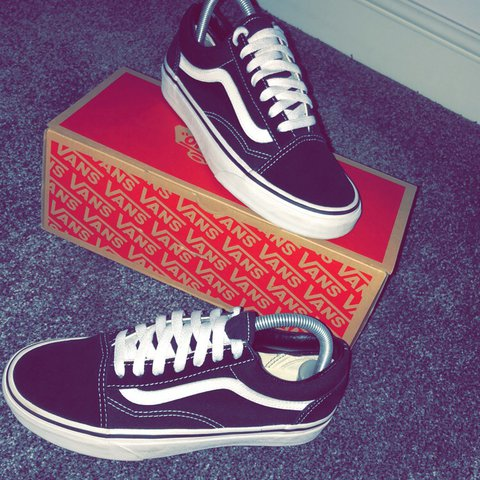 samevo10. 11 months ago. United Kingdom. Old Skool Vans Size 5. Great  condition. Comes with original ... a28afd3f3
