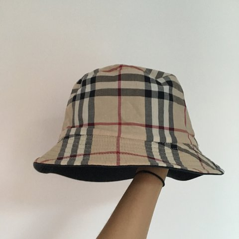 ac2958374e779 Reserved pls don t buy Nova check Bucket hat reversible with - Depop