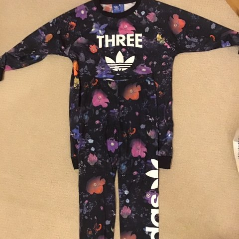 new style 97146 0d78e  gymsophx64. 5 months ago. Plymouth, United Kingdom. Adidas floral tracksuit  ...