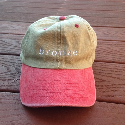 187f596643f Brand new Bronze 56K two-tone dad hat. Support your favorite - Depop
