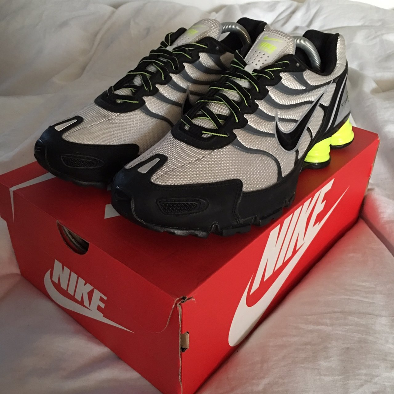 c9d2153de213d Nike Shox 2013 UK8 like TN Vapormax Good used condition - Depop