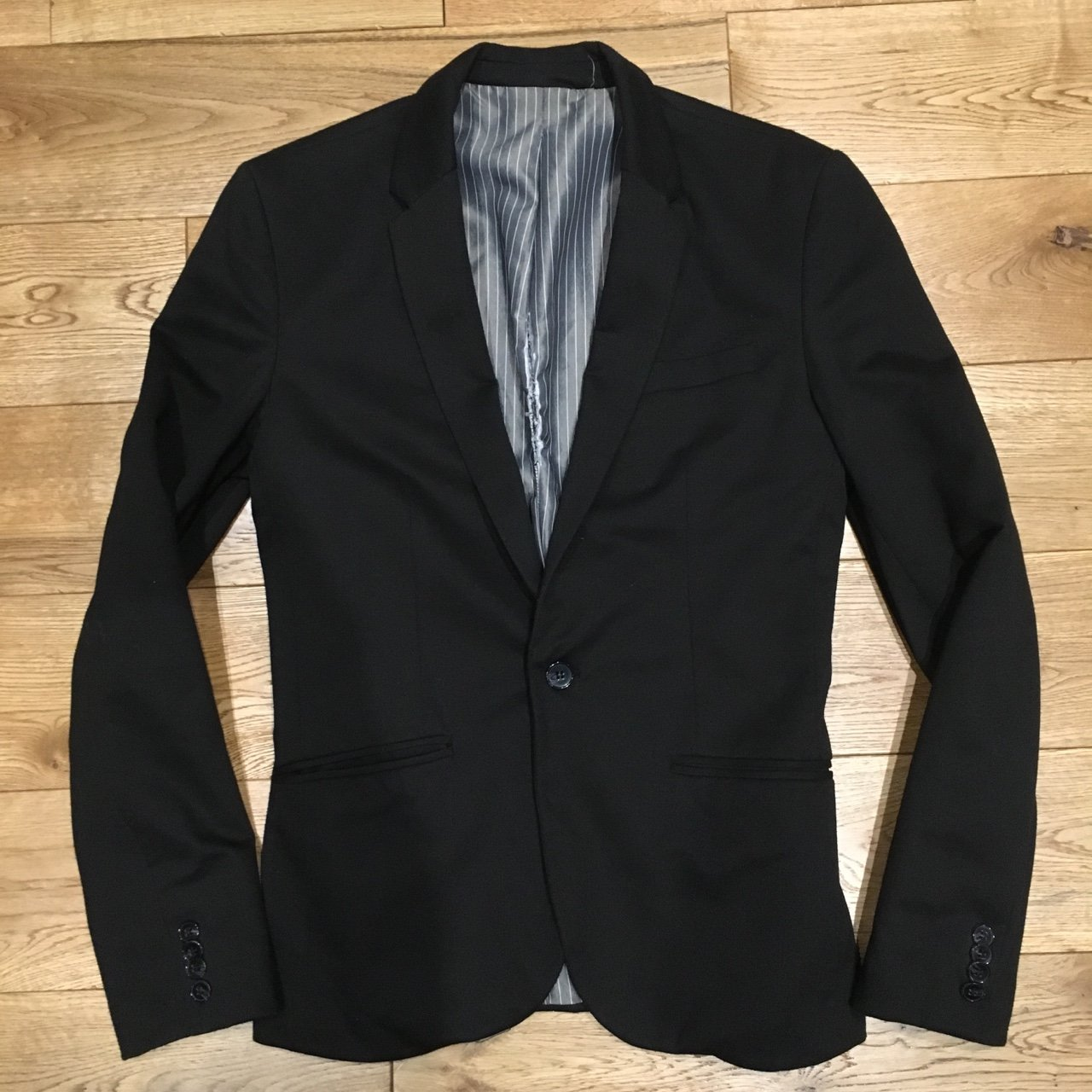 finest selection 6bfd3 ba00a  georgioanastasi. 3 years ago. London, UK. Zara Men s Black Blazer.