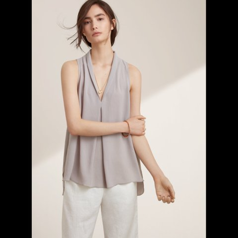 07b1139cf18be Aritzia Wilfred Nuit Blouse. MRP 95. Never worn