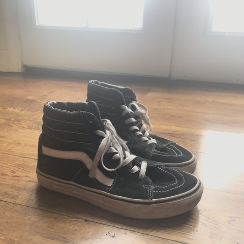 58f86a2c4f vans sk8 hi in women s size 8 men s 6.5 💖 worn very gently. - Depop