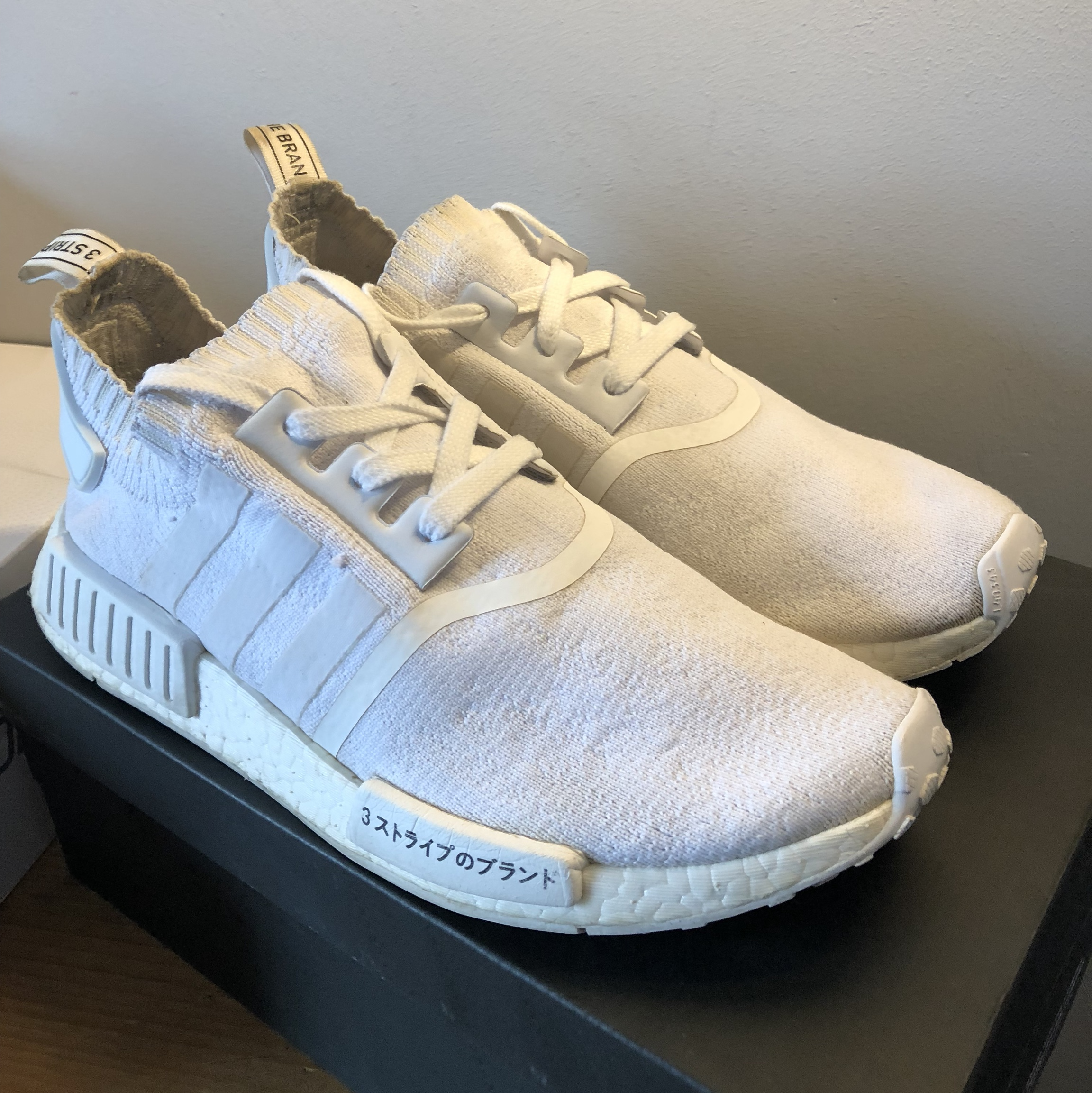 Mens Adidas Nmd R1 Primeknit Japan Trainer Good Depop