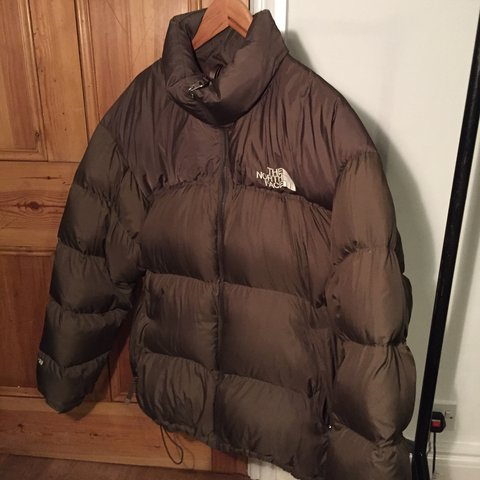 73f679648f1f Brown The North Face 700 down puffer jacket. Size XXL (fits - Depop