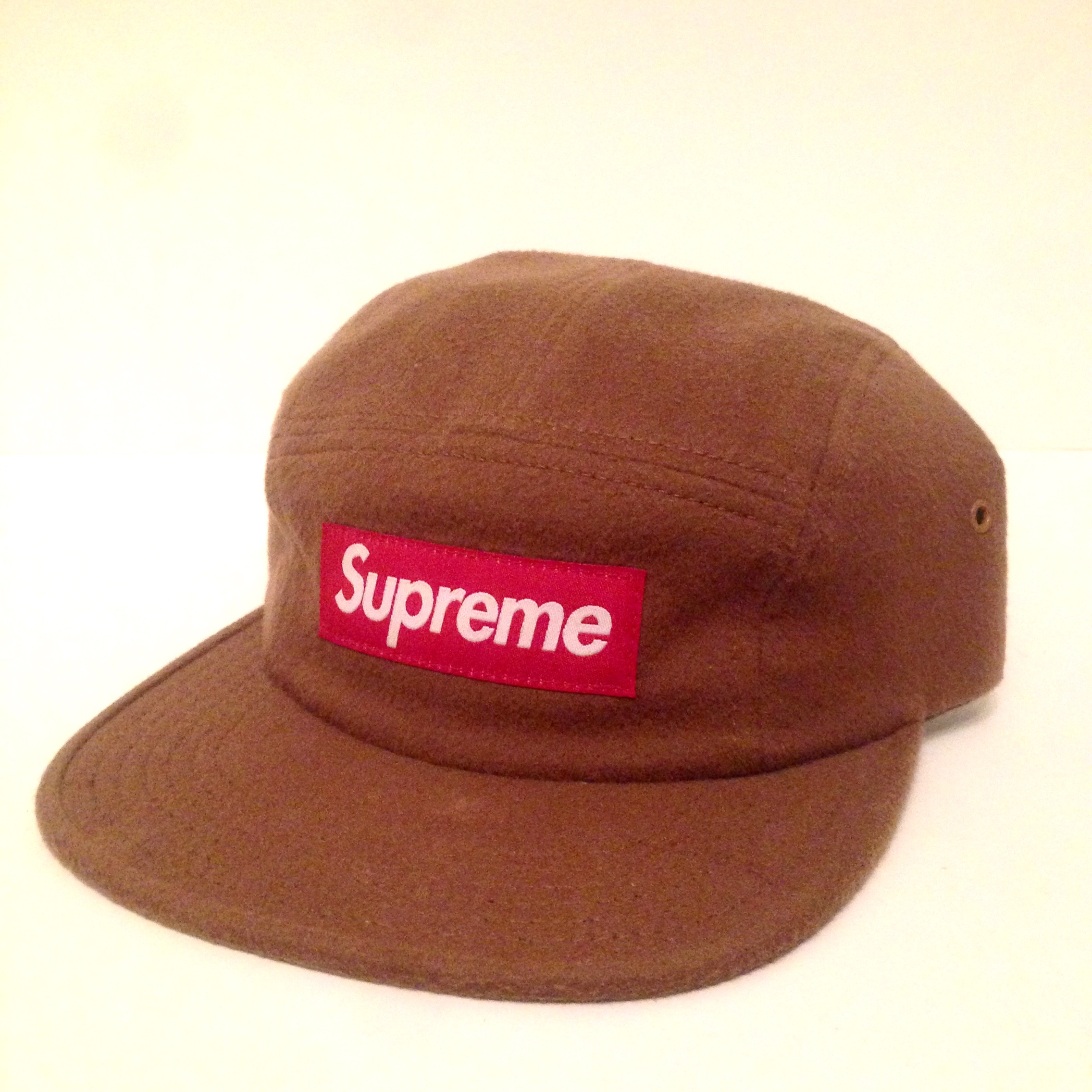 9773f34f @buck_finn. 5 months ago. London, United Kingdom. SUPREME LORO PIANA CAMP  CAP 5 PANEL TAN/RED BOX LOGO ...
