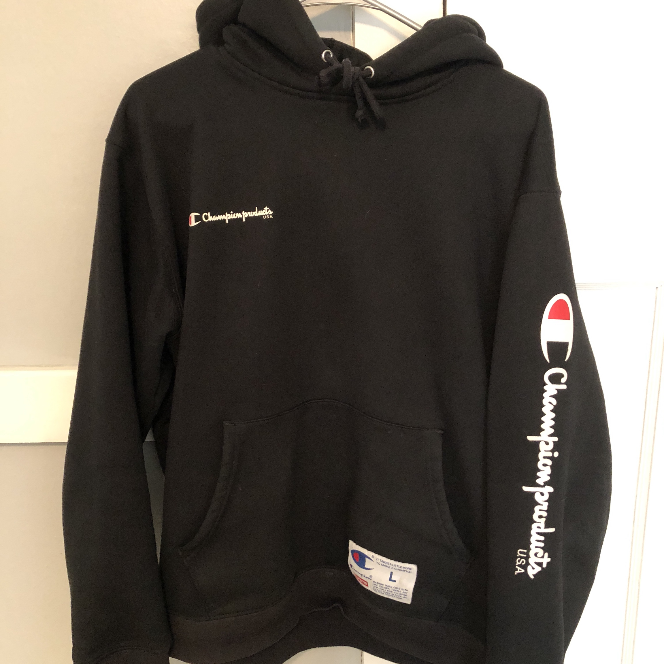 Fw Hoodie Real Champion Lightly Used Supreme 16 Depop X nONk8wXP0