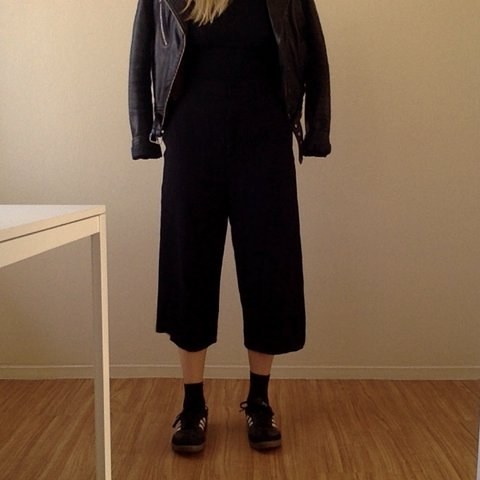 e4f114d3bd08 @clocaine. 2 years ago. Los Angeles, CA, USA. COS swingy culottes (wide leg  trousers)
