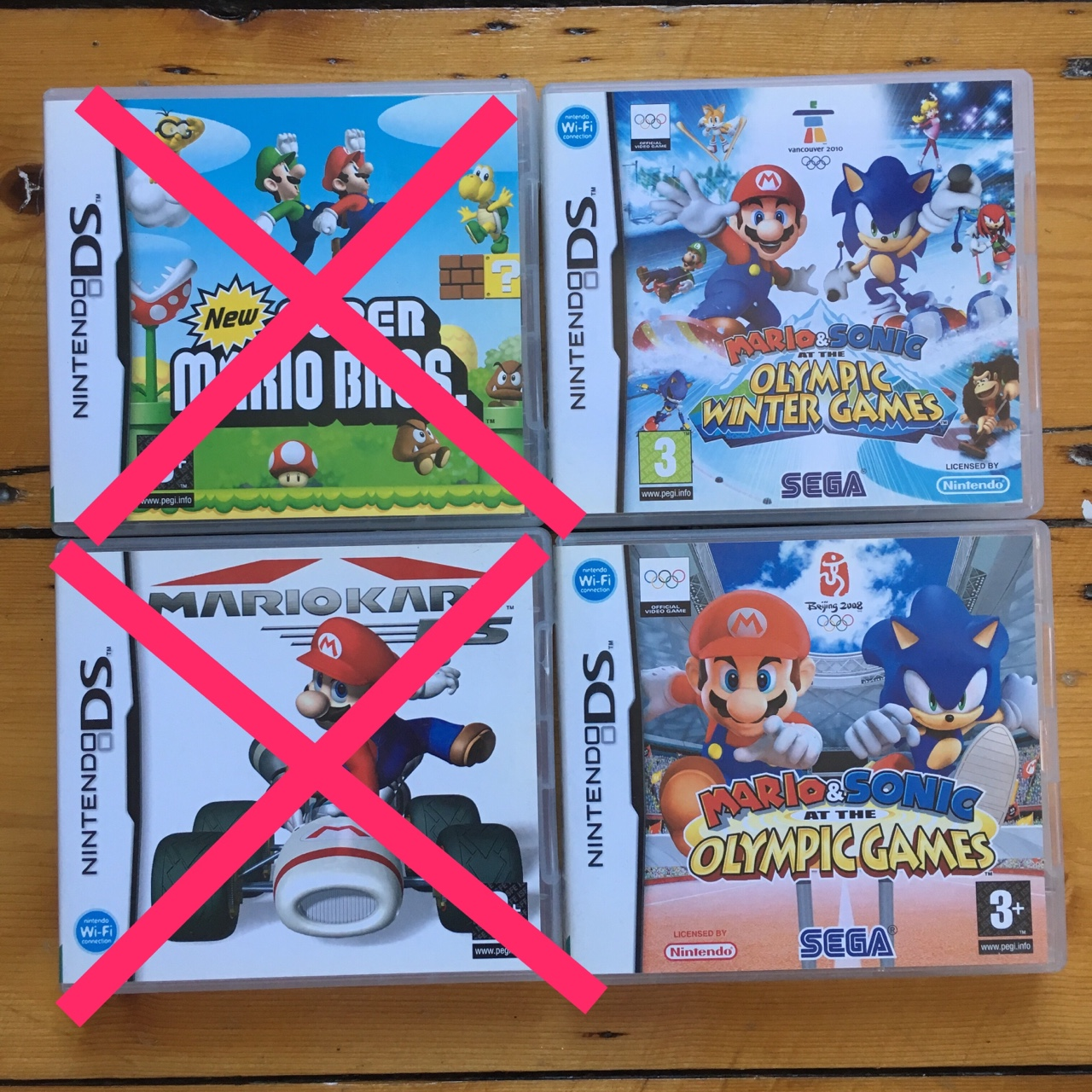 Selling old Nintendo DS games!!!! Can buy any number