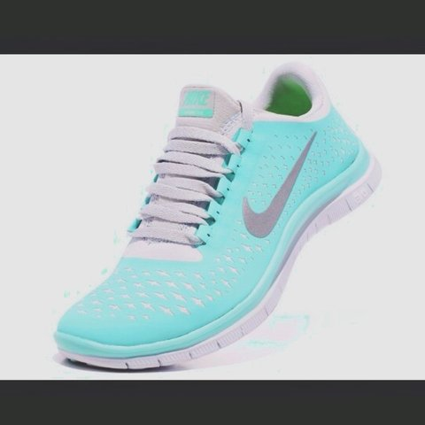 a2d00aa4c89c Nike free run Tiffany blue size 5.5. Identical to the pm me. - Depop