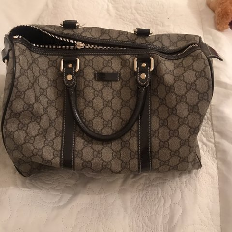 e19973c75e3 Gucci Boston bag used condition but good used condition some - Depop