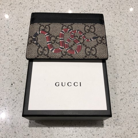 d8e1ee808c6b Gucci Snake Card Holder - 10/10 Condition with dust bag and - Depop