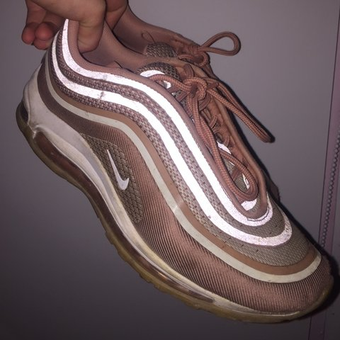 d097e8f882dc Nike Air Max 97 Ultra 17 Rose Gold🌸 Size 6 Worn and a few - Depop