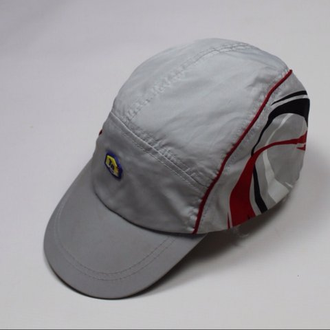 195148e427 @originalmaterial. 2 years ago. London, UK. Rare Nike Tn cap in grey with  red, black and white detailing. Good condition ...