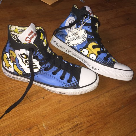 ec8757782271 The Simpsons Converse all stars. Brand new