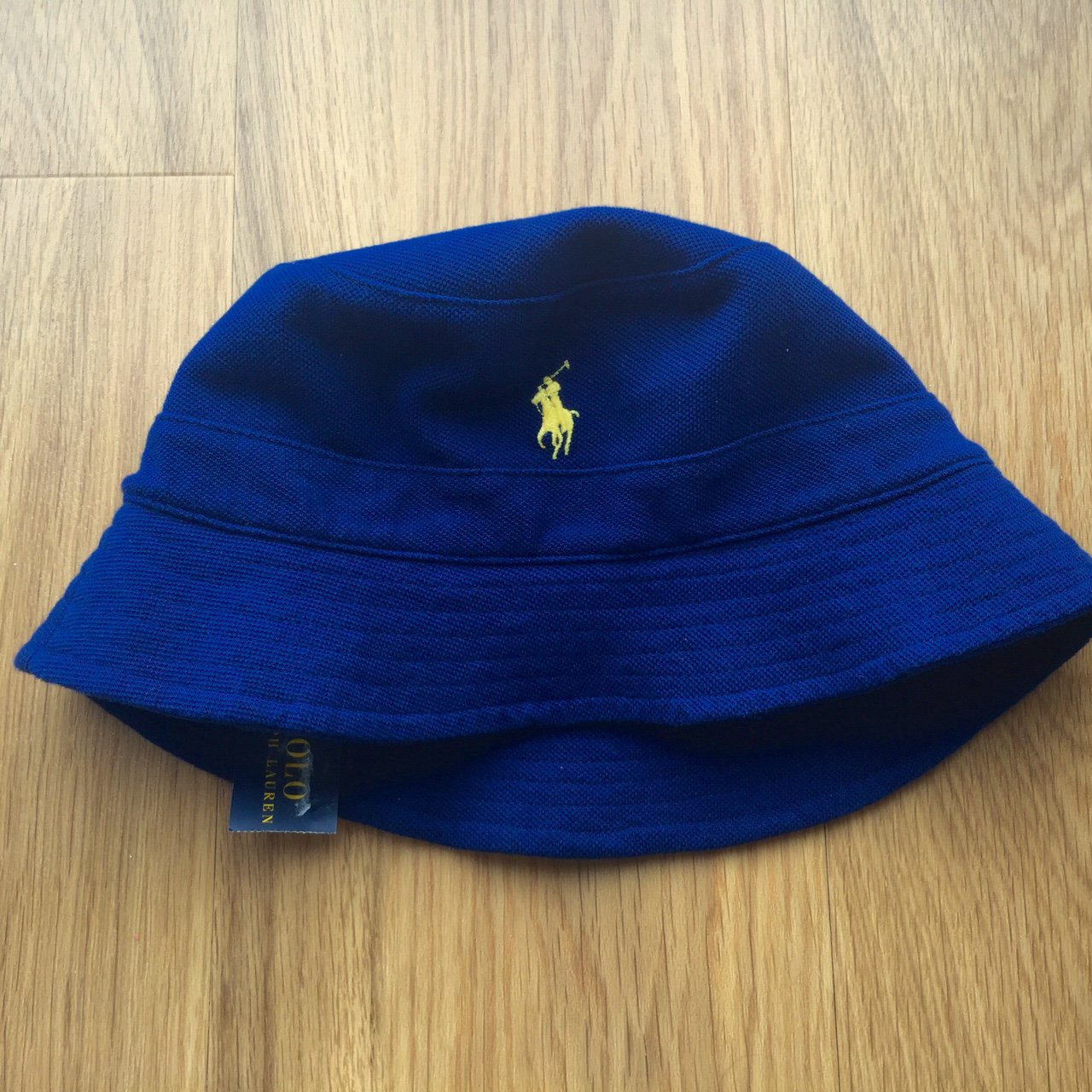 47b18b58752 Polo Ralph Lauren Navy mesh bucket hat. Size