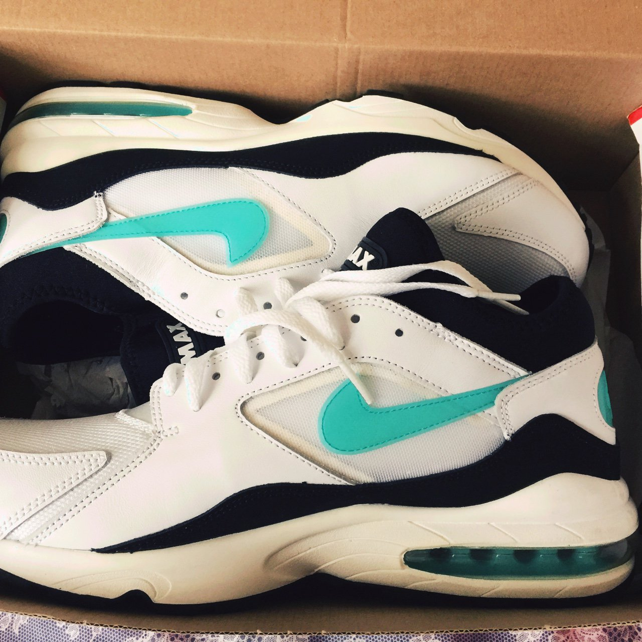 Nike Air Max 93 - deadstock - can t be arsed to write a big - Depop 601fae17d