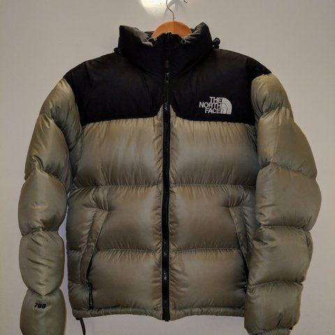 f5d176806a The north face khaki Black Nuptse 700 fill! Khaki 700 fill a - Depop