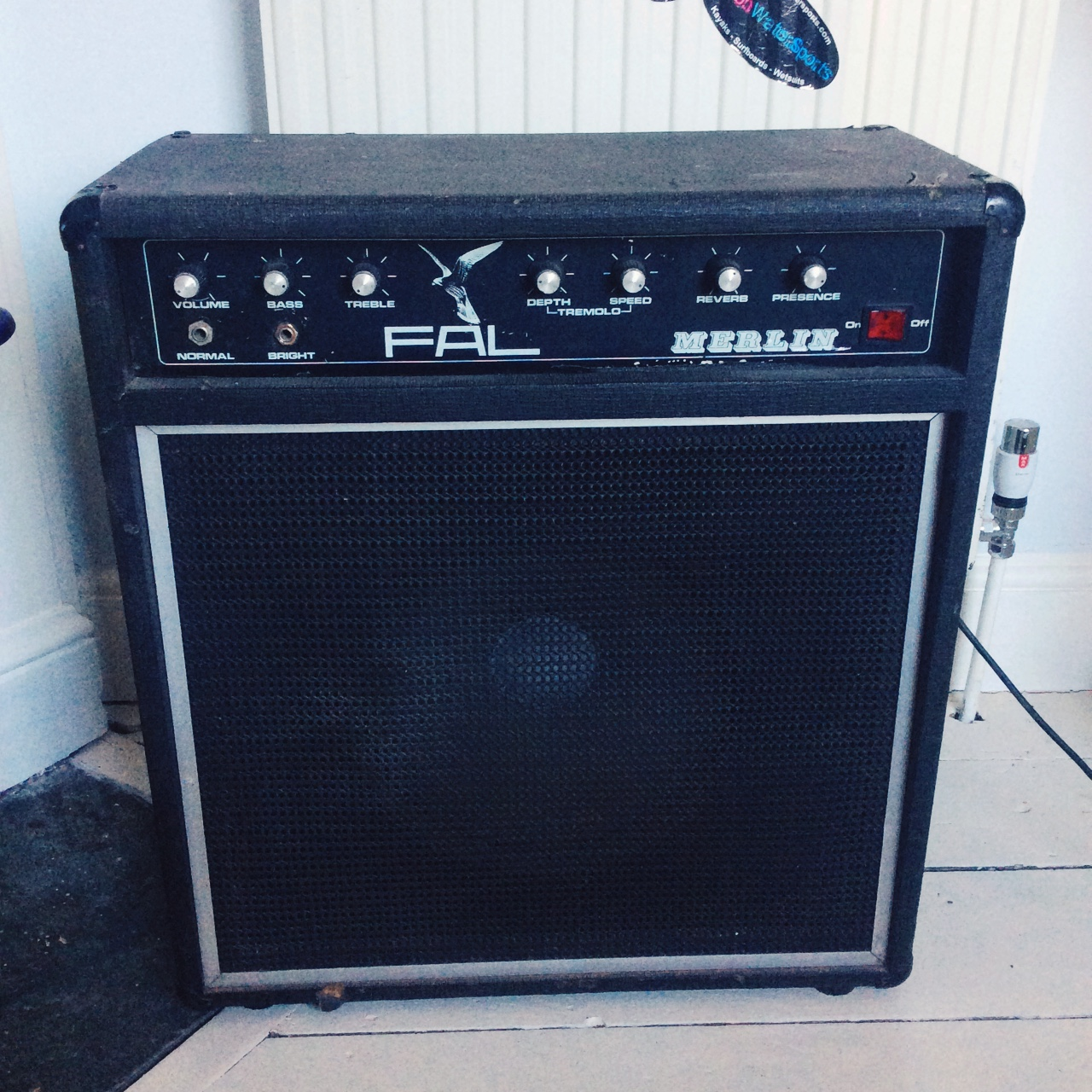 Fal Merlin - Reverb - Transistor - Amplifier - Late... - Depop on