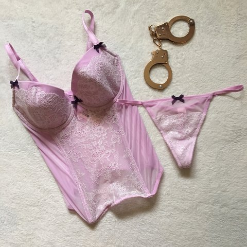 2c037b684c010 @laceandlove. 4 months ago. Woodbridge Township, NJ, USA. Victoria Secret  Matching Set ...