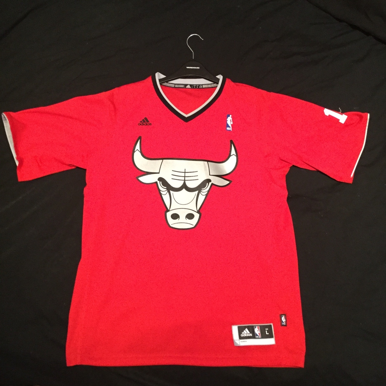 big sale c21a0 58a1c NBA Limited Edition Chicago Bulls Christmas Day... - Depop