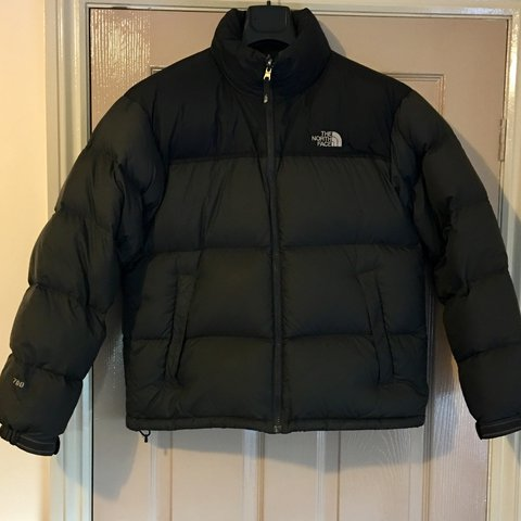 5186c8b127 The North Face Nuptse 2 Black Anthracite 700 Fill Goose Size - Depop
