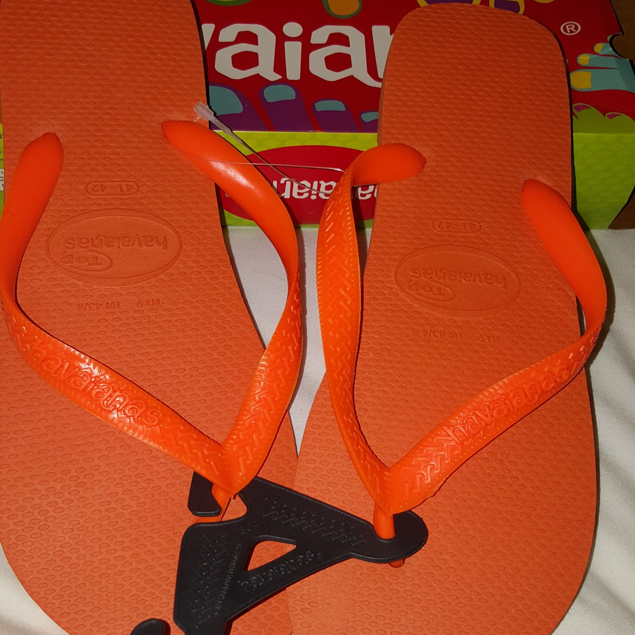344c8ba09 Havaianas slim Brazil s original and authentic flip-flops - Depop