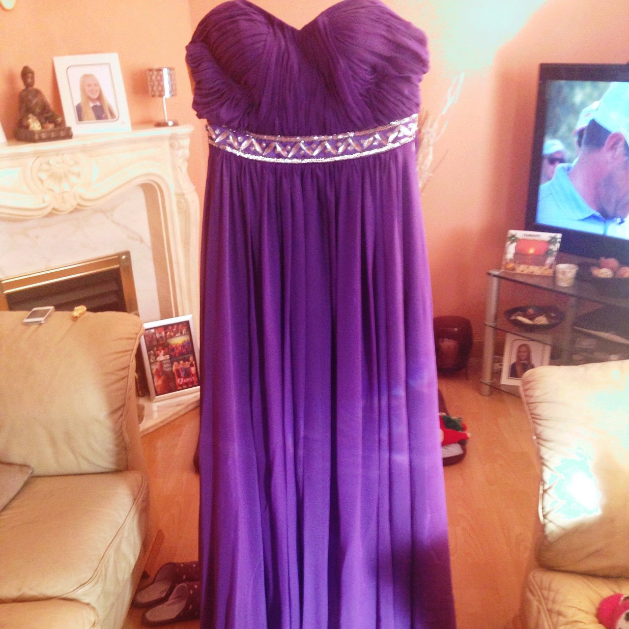 Selling my prom dress from 3 years ago in a size 10👗😊 this - Depop