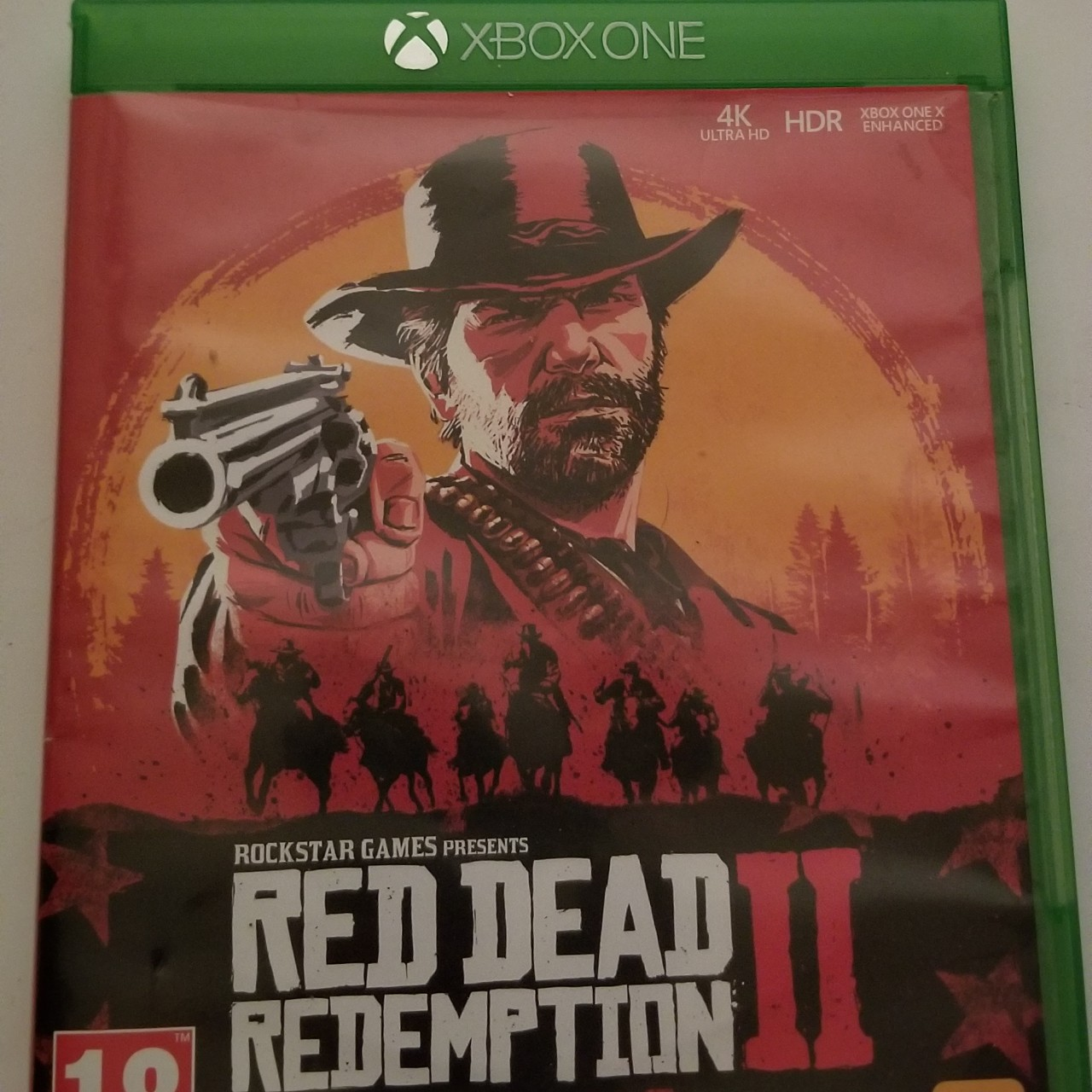 Red Dead Redemption 2 Xbox One game, like new,    - Depop