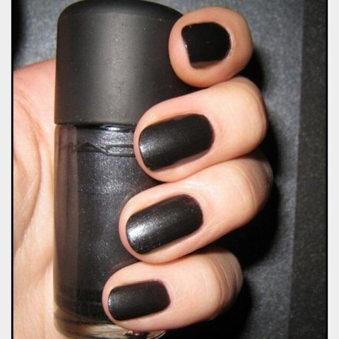 Mac nail polish in shade \'Nightfall\' #mac #makeup #beauty - Depop