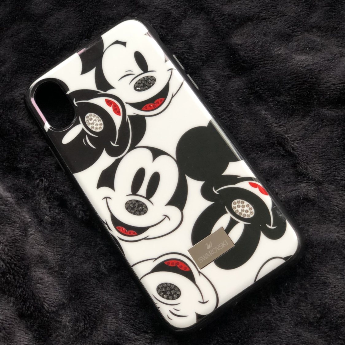 """huge discount 99e31 16a94 official Swarovski """"Mickey Mouse"""" iphone X case -... - Depop"""