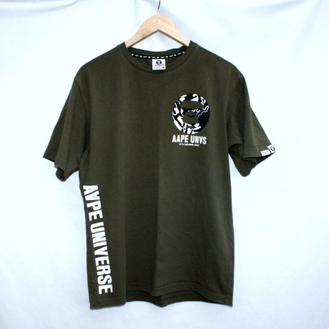 3ad22d507 @caseclothing. last year. Manchester, UK. Bape aape a bathing Ape Tee t  Shirt in Dark ...