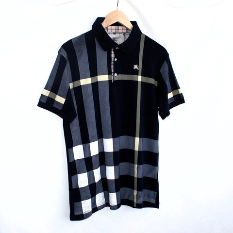 814f0944 @caseclothing. last year. Manchester, United Kingdom. Vintage Burberry Polo  Shirt for sale. Used Condition. Size XL.