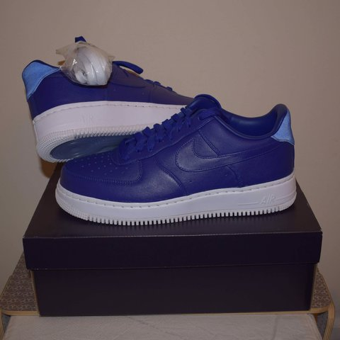 c5cd6b851125 NOT FOR SALE Nike Lab Air Force One (1) Lo (Low) Dark Blue - Depop