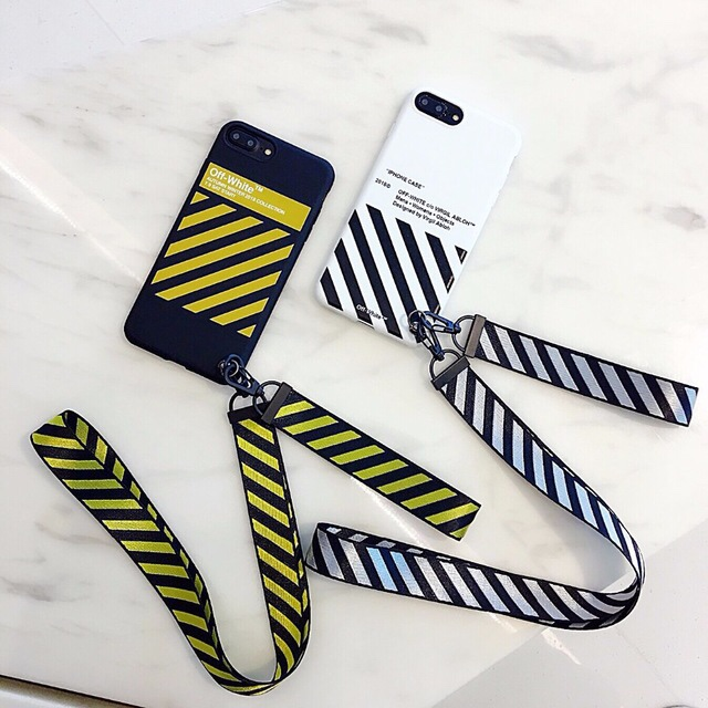 separation shoes 3912b 231f4 💠StripedOff white iPhone Case Hypebeast💠 -... - Depop
