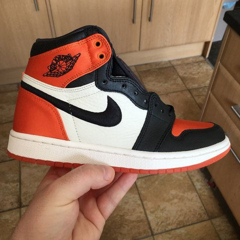 c1d40d697a1248 Air Jordan 1 satin shattered backboard ( sbb ) DS with OG - Depop