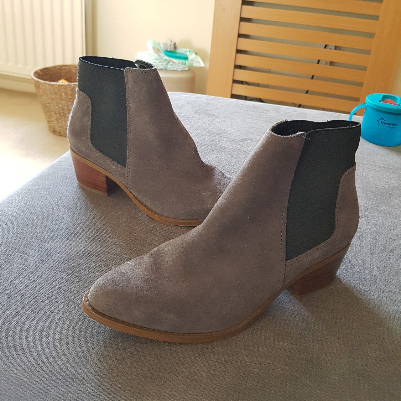 89e0236cb3a Miss KG boots. Worn on a UK holiday once so in great lovely - Depop