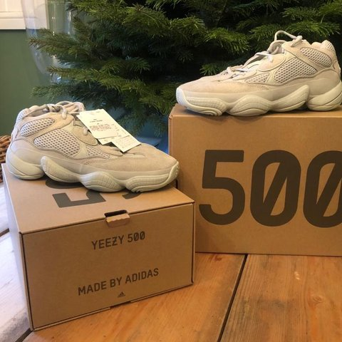 d1a579a3810dc Brand new with tags attached UNWORN Size 9.5 uk Yeezy 500 of - Depop