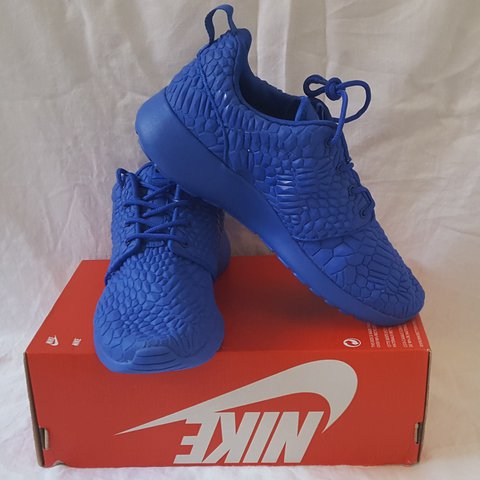 2e56febb3e2a Limited Edition Nike Roshe One DMB Racer Blue UK4. Brand new - Depop