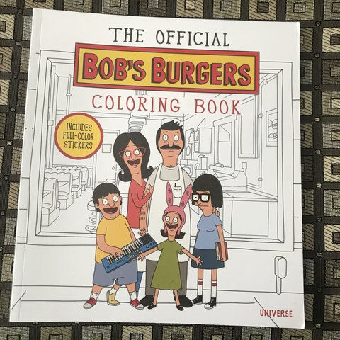 Brand New Bob S Burgers Coloring Book All The Stickers Are Depop