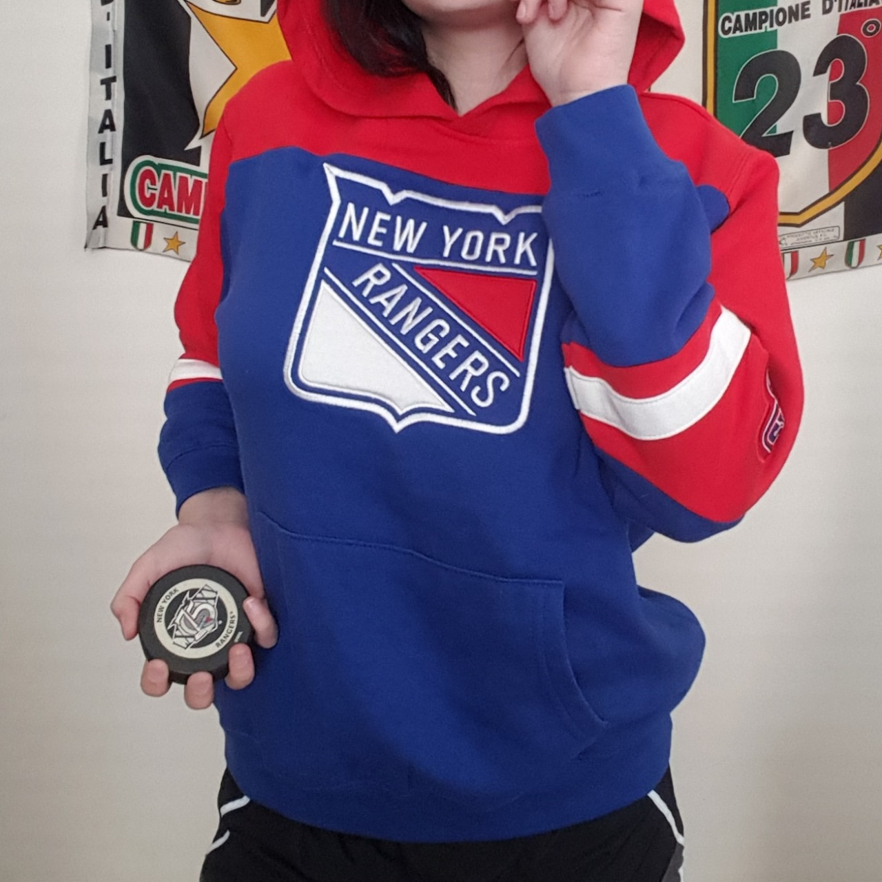 designer fashion 900cf 6ad20 Officially Licensed NHL New York Rangers Hoodie - NY ...