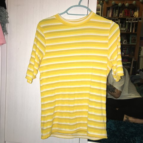 2539ce9d3c @balencrhiaga. 2 years ago. London, United Kingdom. Yellow Striped Top from Urban  Outfitters // Super Cute ...
