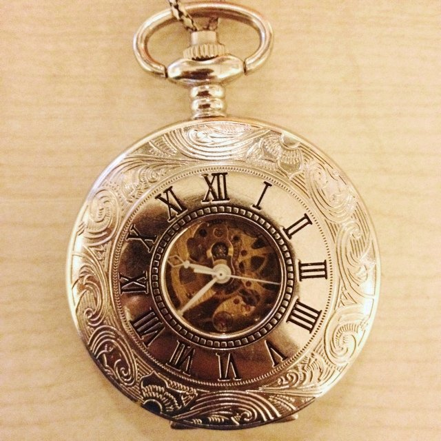 57605be74ea Pocket watch bought from Camden market. It s the watch after - Depop
