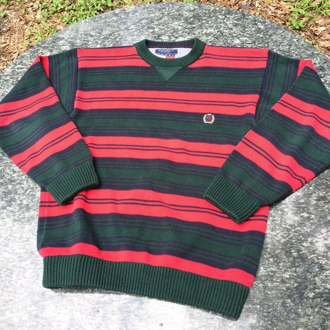ea8a29dba480f Vintage Tommy Hilfiger striped sweater. Excellent condition - Depop