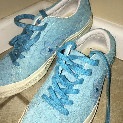 1d73c3f30e8b used golf le fleur shoes by GOLF WANG in the color 🦋blue🦋 - Depop